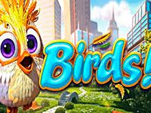 В Вулкан Платинум казино играть онлайн в слот Birds!