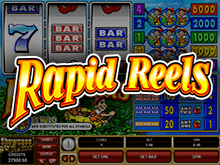 Игровой автомат Rapid Reels – вращай барабаны в онлайн-казино