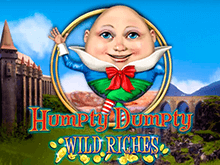Humpty Dumpty Wild Riches – игровой автомат с необычными спинами