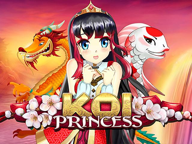 Игровой автомат Koi Princess от компании NetEnt