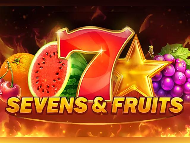 Игровой слот Sevens And Fruits